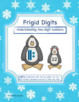 Frigid Digits- Base Ten Blocks and 2-Digit Numbers (Common Core Aligned)