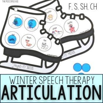 Winter Speech and Language Activities | January Activities | Winter Speech