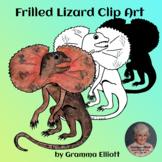 Frilled Lizard Clip