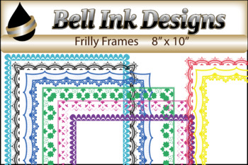 Frilly Frames Clipart