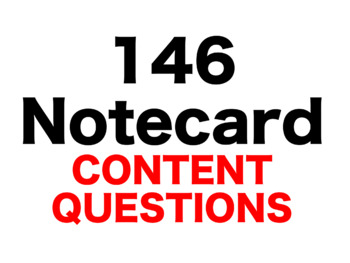 Frindle 146 Content Questions Whiteboard Game