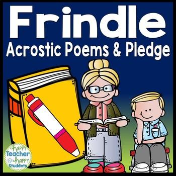 Frindle Writing Activity and Frindle Pledge