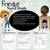 Frindle Novel Study (Great for a literature circle)