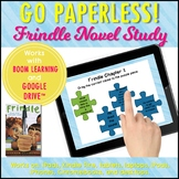 Frindle Self-Checking Digital Novel Study for Google™ and Boom