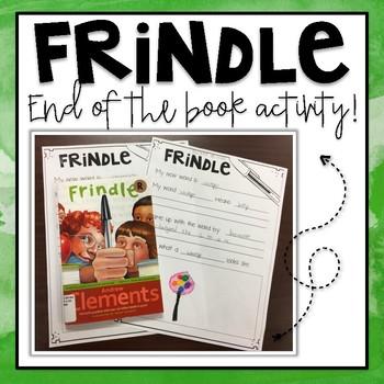 Frindle Activity