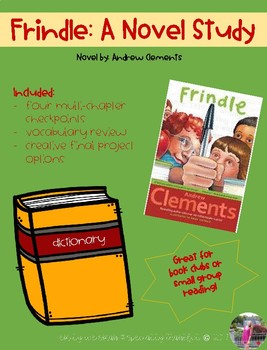 Frindle Book Club activities
