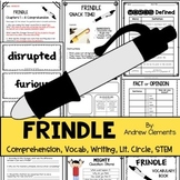 Frindle Novel Study and Book Companion