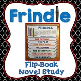 Frindle Novel Study, Flip Book Project, Creative Writing Prompts