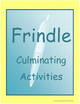 Frindle Culminating Activities