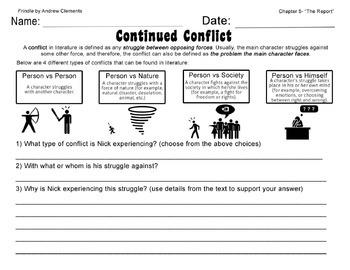 Frindle Bundle- Comprehension Worksheets and Lapbook