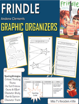 Frindle - By Andrew Clements - Graphic Organizers