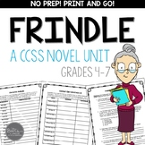 Frindle Novel Unit for Grades 4-7 Common Core Aligned