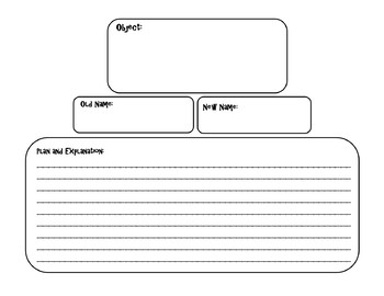 Frindle CHOICE BOARD BUNDLE 11 Activity Pages and Rubric NO PREP