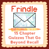 Frindle Chapter Quizzes-15 Assessments that Reinforce Your