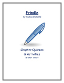 Frindle Chapter Quizzes and Activities