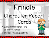 Frindle Character Report Card Pack