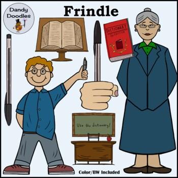 Frindle Clip Art by Dandy Doodles