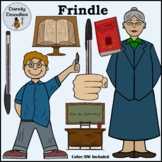 Frindle Clip Art by Dandy Doodles