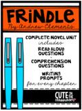 Frindle - Complete Novel Unit