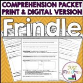 Frindle Comprehension Packet