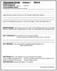 Chocolate Fever Comprehension Packet