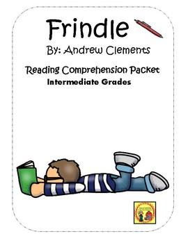 Frindle Comprehension  Packet Economics