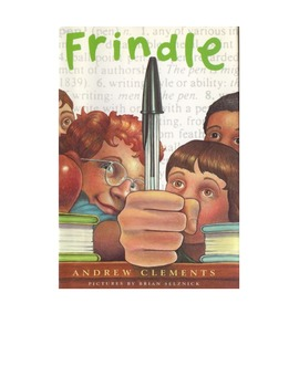 Frindle STAAR Comprehension Questions w/ Character, Plot,