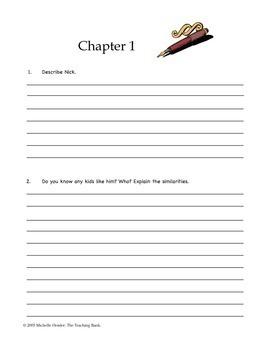 Frindle Comprehension and Assessment Bundle