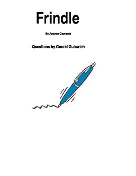 Frindle Core Literature
