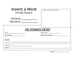Frindle- Create a word