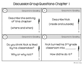Frindle Discussion Group Questions