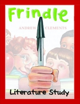 Frindle ... TRIAL COPY:  Chapters 1-5 Printables, Test, Activities, Vocabulary