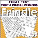 Frindle Final Test