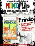 FRINDLE: INTERACTIVE NOTEBOOK CHARACTERIZATION MINI FLIP