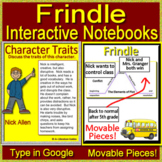 Frindle Interactive Notebook Paperless for Google Classroom - Digital Notebook
