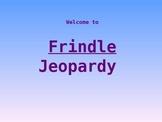Frindle Jeopardy