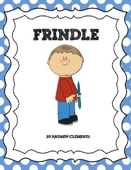 Frindle Literature Unit