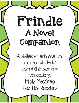 Frindle Novel Companion