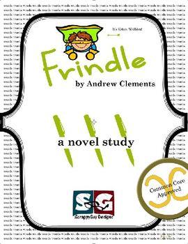 Frindle Novel Study - Vocabulary, Chapter Work, Exams, Wri