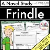 Frindle Novel Study Unit: comprehension, vocabulary, activities, tests