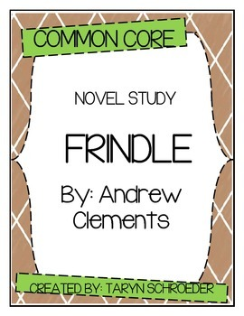 Frindle - Novel Study