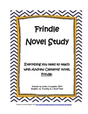 Frindle Novel Study 40+ pages