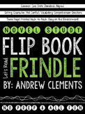 Frindle Novel Study Flip Book