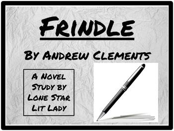 Frindle: Novel Study Response Book