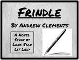 Frindle: Novel Study Response Book