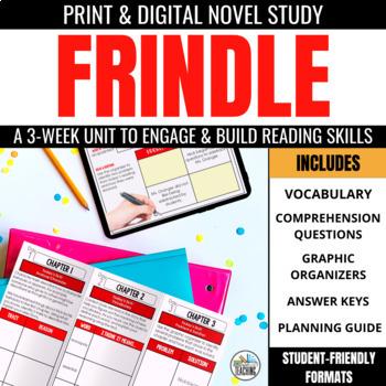 Frindle Foldable Novel Study Unit