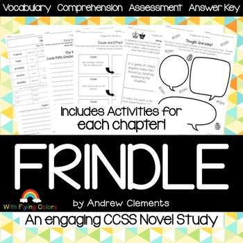 Frindle study guide ebook frindle foldable novel study unit 4 array frindle book study teaching resources teachers pay teachers rh teacherspayteachers com fandeluxe Images