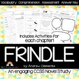 Frindle Novel Study Unit