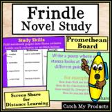 Frindle Novel Study on PROMETHEAN Board