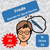 Frindle Novel Study for Special Education